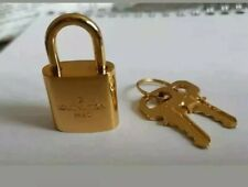Louis Vuitton Paris-Cadenas + 2 clés-Or