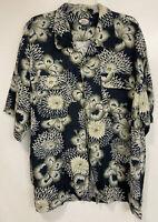 Vintage 1993 Tommy Bahama Button Up Hawaiian Shirt Beach Size XL Hard_8s_Magic