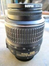 Nikon AF-S DX SWM VR 18-55mm f/1:3.5-5.6G Lens