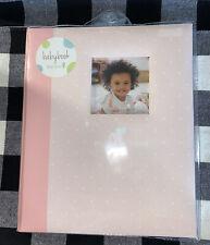 My Baby First Memories Book, Tiny Ideas Girls Pink Dots - Keepsake Birth-3 Year