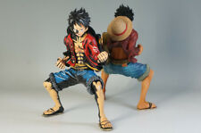 MINT ONE PIECE KING OF ARTIST LUFFY 2pc Set w/o Foot Parts Free Ship 976f19