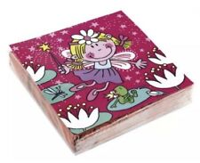 Amscan Funky Fairy Birthday Party Paper Napkins Pack Of 20 33cm x 33cm