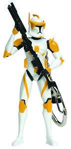 Star Wars COMMANDER CODY Keychain Keyring Clone Trooper Jedi Retired S2 NEW