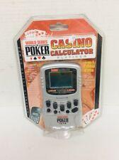 NEW SEALED WORLD SERIES POKER CASINO CALCULATOR PLATINUM 5 IN 1 GAME GIFT VEGAS