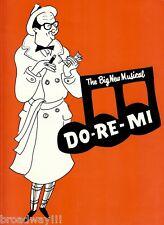 """Phil Silvers """"DO RE MI"""" Nancy Walker / Jule Styne 1960 Tryout Souvenir Program"""