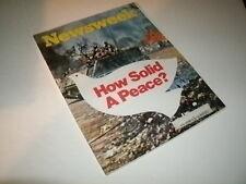 Newsweek Magazine, Januray 29, 1973. Miami Dolphins Super Bowl,  Boston Bruins!