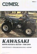 NEW KAWASAKI BAYOU KLF220 KLF250 SERVICE REPAIR MANUAL FREE SHIP
