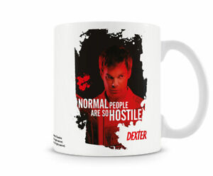 Officially Licensed Merchandise Dexter - Normal People Are So Hostile Coffee Mug