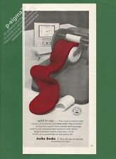 JERKS SOCKS The Sock of Socks 1963 Vintage Print Ad