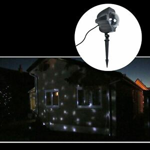 Snowfall Effect LED Light Projector Christmas Xmas Decoration Indoor/Outdoor