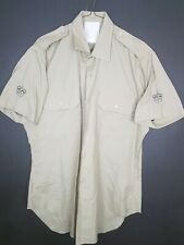 Australian Army Shirt warrant officer NCO jungle green patches post $1* size 40
