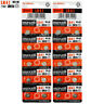 20 x Maxell LR41 Alkaline batteries 1.5V 192 AG3 392 192A L736 SR41 Pack of 2