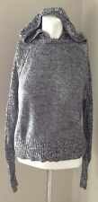 AMERICAN EAGLE GREY LONG SLEEVE HOODED SWEATER SIZE XSMALL
