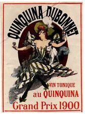 PUBLICITE COULEUR D EPOQUE 1905   QUINQUINA DUBONNET  VON TONIQUE
