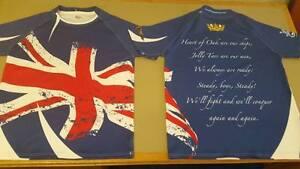 Blue Royal Navy Union Flag, Jack, Heart of Oak, Rugby shirt, Army v Navy,AvN RN