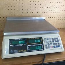 Cas Space S 2000 30lb X 002 Price Computing Retail Scale Lcd Customer Display