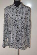 Career Long Sleeve 100% Silk Tops for Women
