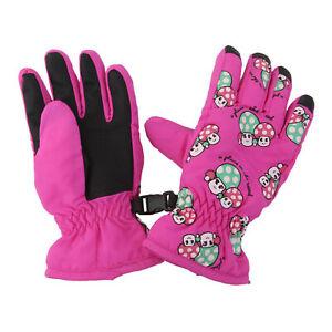 2-4 years Kids Children Windproof Waterproof Ski Snow Sports Warm Gloves