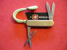 "NTSA VINTAGE SWISS ARMY WENGER MULTIFUNCTION POCKET KNIFE ""SOLID BRASS ESQUIRE"""