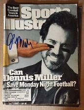 Dennis Miller Signed Sports Illustrated Magazine Autographed