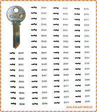 ZE-400PP Universal Schlüsselrohling für ZEISS-IKON 400 Serie Profilzylinder
