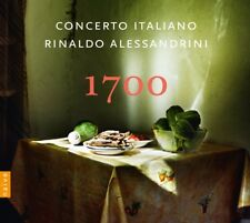 RINALDO ALESSANDRINI/CONCERTO ITALIANO - 1700   CD NEW!
