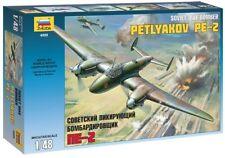 Zvezda 1/48 Soviet Dive Bomber Petlyakov PE-2 # 4809