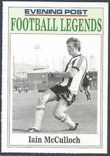 NOTTINGHAM EVENING POST FOOTBALL LEGEND CARD-NOTTS COUNTY-IAIN McCULLOCH