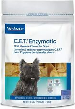Virbac C.E.T. Enzymatic Oral Hygiene Chews for Small Dogs 30 Count 11-25 lbs.