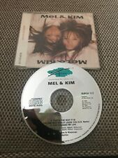 Mel & Kim - That's The Way It Is Rare 1988 CD Single S/A/W Pwl