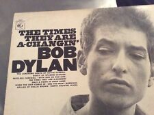 BOB DYLAN L.P. 1965.  'THE TIMES THEY ARE A CHANGIN.'  CBS S 32021.  VG+ / EX.