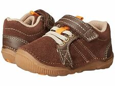 Striderite Little Boys Soft Brown Shoes  Infant Boys Size 5 1/2 Wide