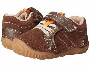 Stride Rite Little Boys Soft Shoes Brown  Infant Boys Size 4 Wide