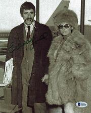 Elliott Gould MASH Authentic Signed 8x10 Photo w/ Barbara Streisand BAS #D43600