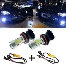 2x H11 H8 LED Projector Fog Light 7.5W No Error FOR BMW E71 X6 M E70 X5 E83 X3