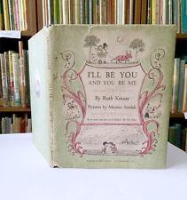 Maurice Sendak, Ruth Krauss, I'LL BE YOU AND YOU BE ME, 1st Edition, 1954, HC/DJ