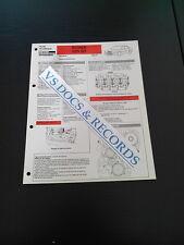 FICHE TECHNIQUE AUTOMOBILE RTA ROVER 825 SD (réf 0011)