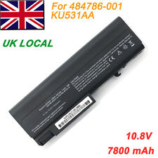 9 Cell Laptop Battery for HP Compaq EliteBook 8440p 8440w 6530b 6535b 6930p
