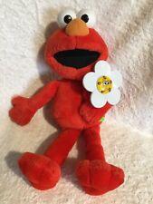 Sesame Street 2003 Elmo Talks, Sings & Laughs Flower Lights Up 38cm Tall VGC