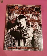 Authentic thaumaturgy-Isaac Bonewits Gaceta MAGICK OCCULT Magic RPG GURPS