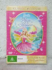 Barbie DVD Magic Of The Rainbow - FEATURE LENGTH MOVIE - REGION 4 AUSTRALIA