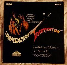 Olivia Newton-john Lp Toomorrow OST Extremely Rare Vinyl! Excellent! Soundtrack