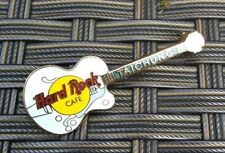More details for taichung hard rock cafe gibson byrdland powder blue guitar prototype pin badge