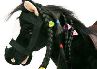 """Pony """" Linda """" zum Frisieren Kuscheltier wiehert Plüsch Pferd Pferde 4117 NEU"""
