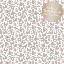Camelot Disney Minnie 85270202 1 Grey Leopard Print Metallic   BTY Cotton Fab
