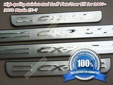 Mazda CX-7 Superb Door Sills Panel Scuff Plate Kick Step Protect (2007-2013)