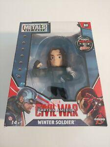Marvel Captain America: Civil War Winter Soldier Metals Die Cast M49 4 inch New