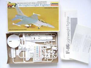 General Dynamics F-16 Lightwight Fighter, Bausatz Kit, Lindberg 950 1:100 boxed