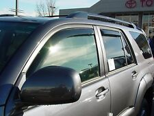 2003 - 2009 Toyota 4-Runner 4-Piece In-Channel Wind Deflector Shades