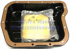 A518 TRANSMISSION PAN GASKET DODGE CHRYSLER 46RE 46RH A618 FIBER FILTER 90-97